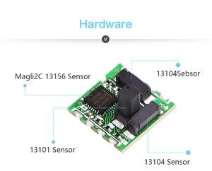 Image 4 - WitMotion haute précision RM3100 capteur de magnétomètre de qualité militaire Module de champ magnétique boussole électronique numérique pour MCU