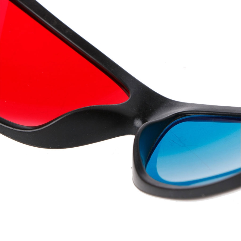 Universal Red Blue Anaglyph AR And 3D Glasses For Movie Game And DVD Video 7