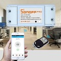 Casa inteligente Sonoff RF 433 Mhz Interruptor de Control Remoto Inalámbrico de Pared Interruptor de La Luz Wifi Inteligente Interruptor para Las Luces AC100-250V APP Control