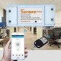 Sonoff RF 433 Mhz Interruptor De Luz de Parede Casa inteligente Wi-fi Interruptor de Controle Remoto Sem Fio Inteligente Mudar para Lâmpadas AC100-250V APP controle