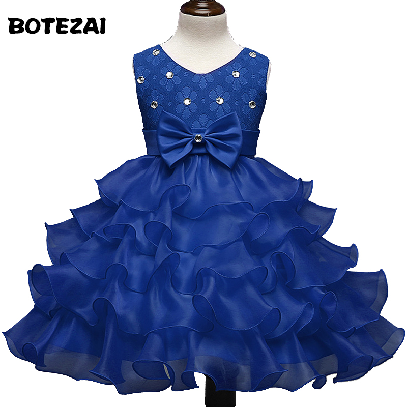 new birthday party girl dress for girls clothes kids