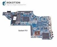 Nokotion 66518-001 645384-001 메인 보드 hp pavilion dv7 DV7-6000 노트북 마더 보드 소켓 fs1 ddr3