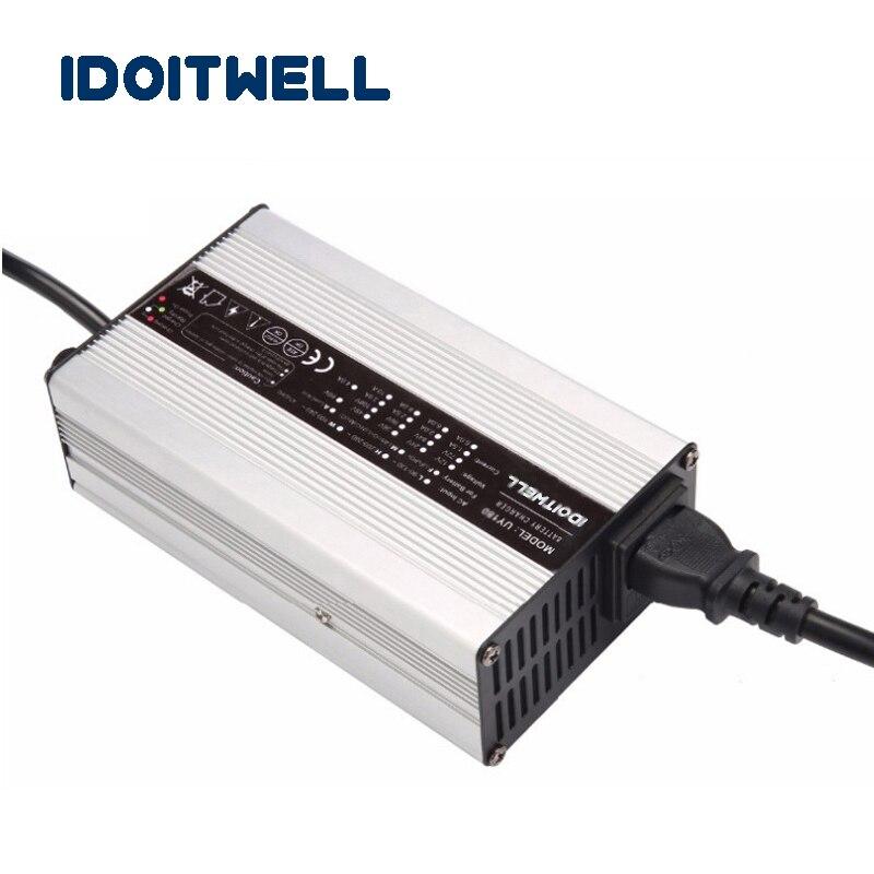 все цены на Customized 48V series 54.6V 12S or 13S Li-ion battery charger 58.4V 16S LiFePo4 battery charger 58.8V Lead acid battery charger онлайн