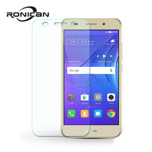 Tempered Glass For Huawei Y3 2017 Y3 3 III CRO L02 CRO-L03 CRO L22 L23 CRO-U00 Case Screen Protector on Y3III 3 Cover GLAS Sklo()