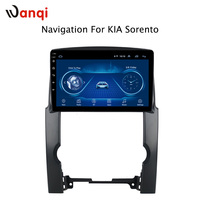 hot sale 10.1 inch Android 8.1 2.5D Tempered HD Touchscreen Radio for Kia Sorento 2007 2012 with Bluetooth USB WIFI support SWC