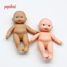 12cm Brown PINK children baby body dolls boy gift accessories for barbie dolls accession toy
