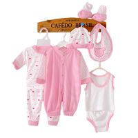 8 Pieces Baby Gift Set Newborn Infant Clothing Sets Quality Pure Cotton Boys Girls Clothes Soft