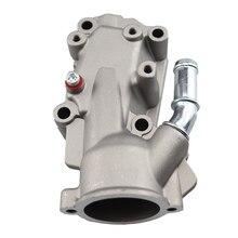 Aluminium Thermostat Housing Coolant Water Flange For Citroen Peugeot C3 I C4 206 307 1.4/1.6.6V 1336.W3 1336W3 .1336W3