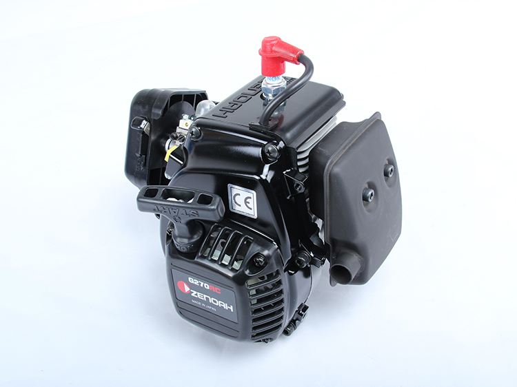 ZENOAH Hobby Engine G270RC 27CC Gasoline Engine Motor 4-Bolt Engine straight row 29cc piston for high speed 29cc gasoline engine zenoah parts rc boat