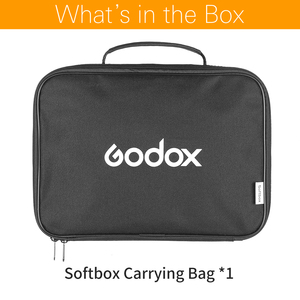 Image 2 - Godox 80 * 80cm / 60 * 60cm / 50 * 50cm / 40 * 40cm S type with Softbox Storage Bag Portable Carry Bag Case (Carrying Bag Only)