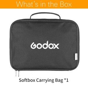 Image 2 - Đèn Flash Godox 80*80 cm/60*60 cm/50*50 cm/40*40 cm s loại có Softbox Túi Lưu Trữ Di Động Mang Theo Túi (Mang Chỉ Có Túi)