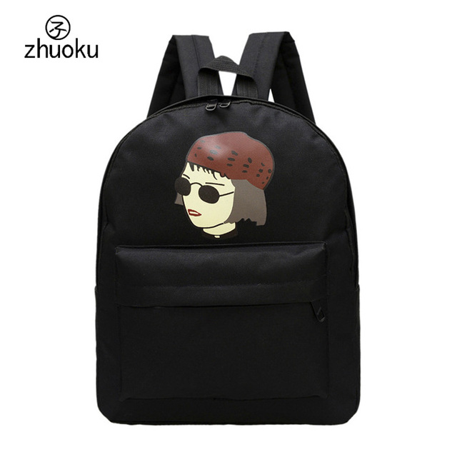 Backpack women and backpack men Unisex canvas backpack Characters ...