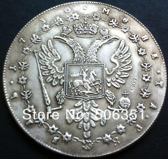 χονδρική 1730 ρωσία 1 αντίγραφα ρούβλια - Διακόσμηση σπιτιού - Φωτογραφία 2