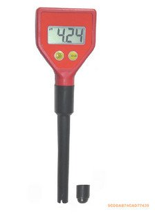 Pocket pH meter 0~14.00 Resolution:0.01 Free shipping wholesale and retail