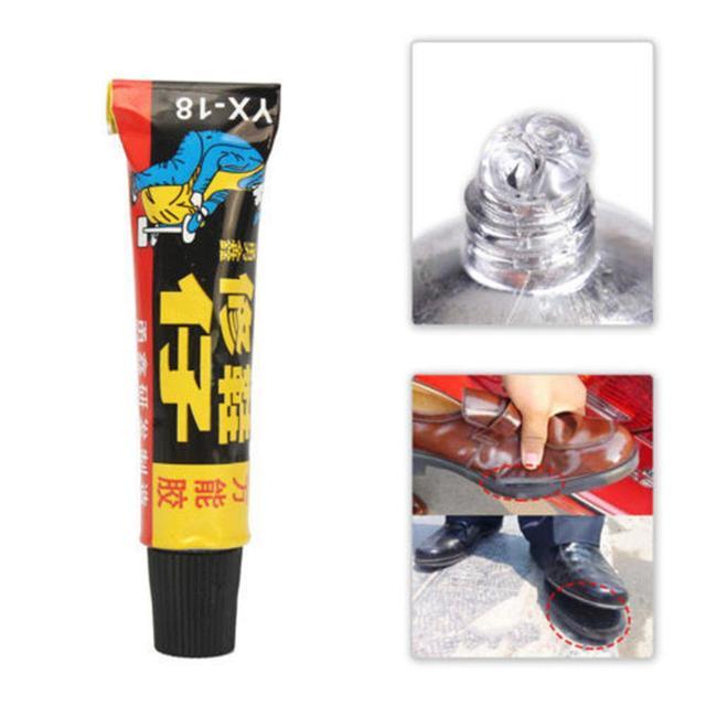 Hot 18 ml Super Lijm Reparatie Lijm voor Leren Schoen Rubber Canvas Tube Tool