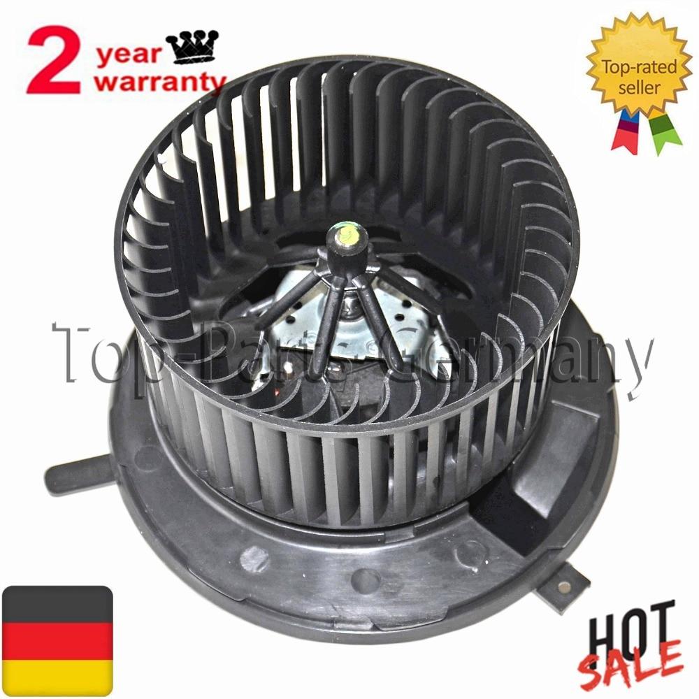 For Audi A3 TT Roadster/Seat Alhambra Leon/Skoda Octavia/VW Caddy EOS Golf Jetta Passat Scirocco Shara Blower Motor Fan