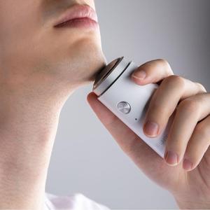 Image 4 - Original Xiaomi Mijia SO WHITE ED1 Mini Electric Shaver IPX5 Waterproof Portable Mens Razors Head Dry Wet Shaving Washable