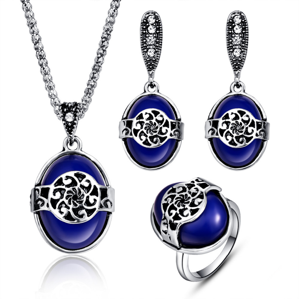 Conjuntos de joyas turcas para mujeres Joyas étnicas Conjunto de - Bisutería