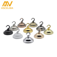 2Ps Ceiling Cover Plate Hook Pendant Lamp Decoration Metal Ceiling Plate Lamp Accessories Crystal Chandelier Parts