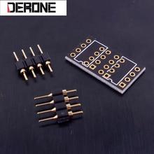 10 חתיכה PCB עבור יחיד אופ amp כדי הכפול אופ amp עם פין