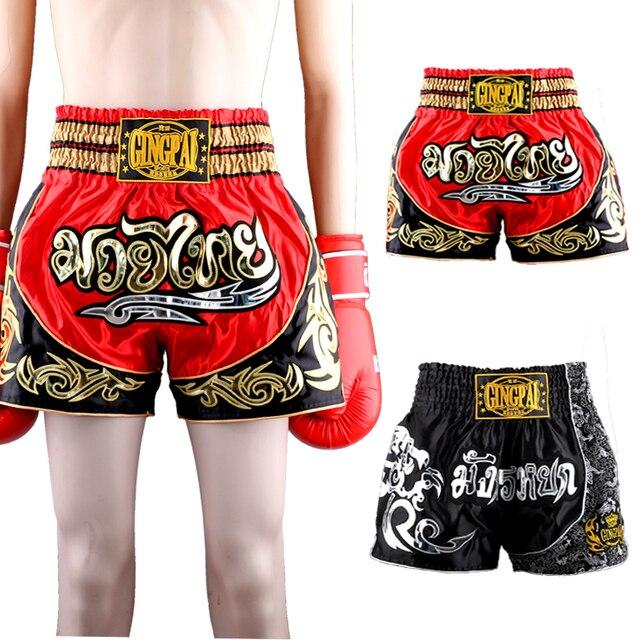 Muay Kurze Trainingshose 7Off Thai Boxing Us25 Schwarz 1 Professionelle männer In Kampfsport Badehose Kampf Kickboxen Hosen Shorts Grappling Mma kuZiOXP