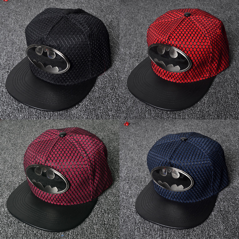 Fashion Summer Brand Batman Baseball Cap Hat For Men Women Casual Bone Hip Hop Snapback Caps Sun Hats miaoxi fashion women summer baseball cap hip hop casual men adult hat hip hop beauty female caps unisex hats bone bs 008