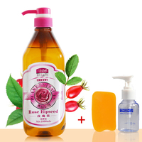 SPA Rose Hips Massage Compound Oils Base Oil For Beauty Salon Equipment 1000g With Free Gift