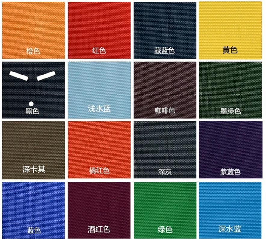Strong And Thick Cordura 500D Nylon Fabric, Short-time Waterproof Material,abrasion-Resistant Fabric,PU Coating Nylon Cloth.