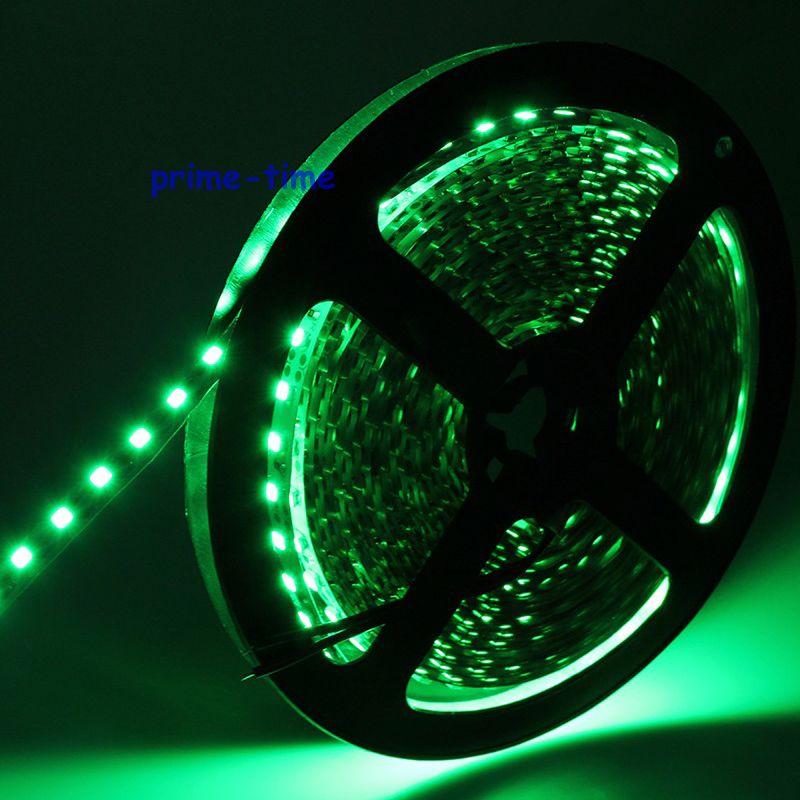 3528 SMD 120 LED / m LED sloksne, 5m 600 LED 12V elastīga gaisma BEZ - LED Apgaismojums - Foto 3