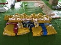 Надувные костюмы для сумо Дети костюмы для сумо и Реслинга оборудования