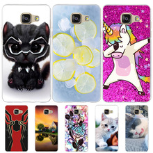 For Case Samsung Galaxy A5 2016 A510 A510F Cover Dog Cat Funda For Samsung A5 2016 Case Silicone Coque For Samsung A5 2016 Cases смартфон samsung galaxy a5 2016 4g 16gb black