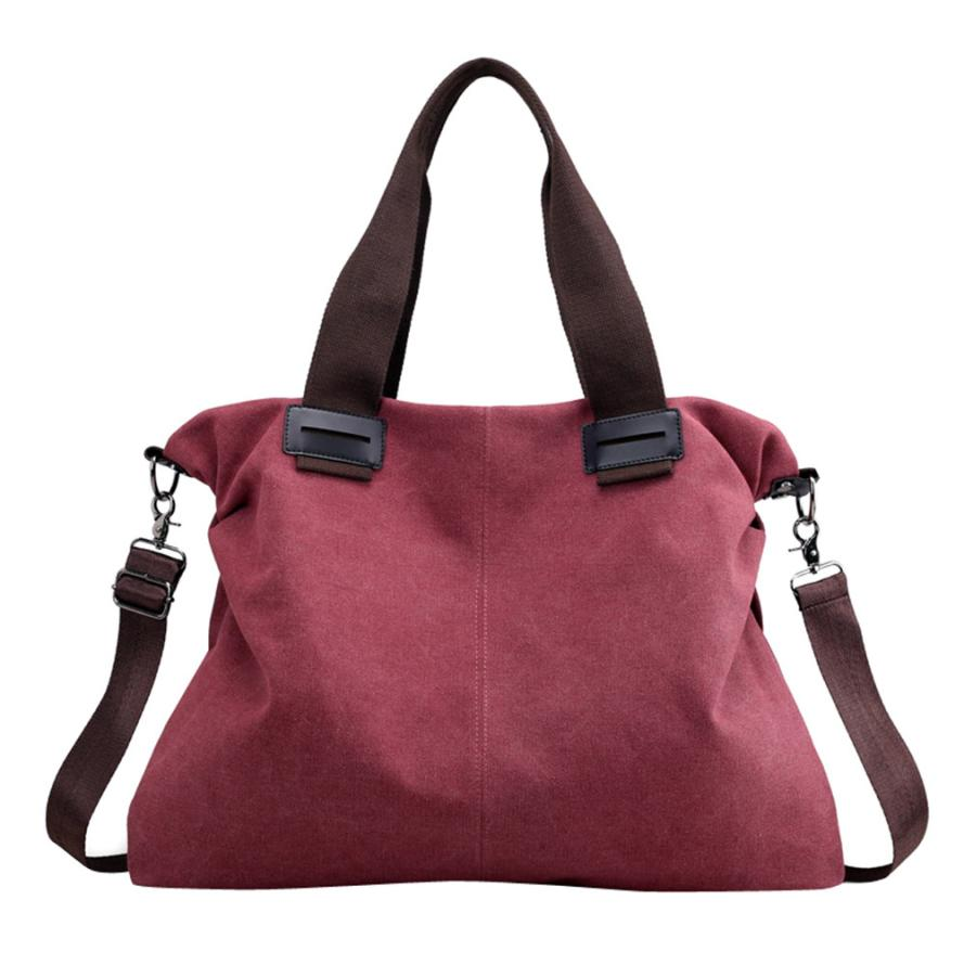 Bags Ladies Canvas Zipper Hobos Handbags Hand Bag Summer Messenger Shoulder Bag #442