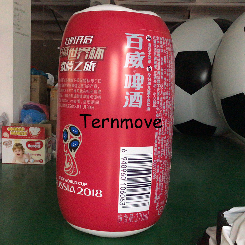 inflatable beer can tin bottle customized replica advertising product inflatable Bottled coffee drink milk with logo ac028 factory price giant inflatable advertising new customized replica product