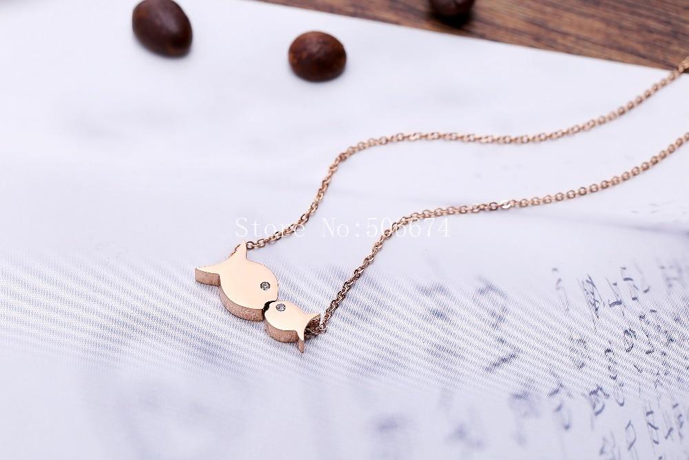 Klasyczna biżuteria na prezenty dla par kochanków, miłość - Modna biżuteria - Zdjęcie 3