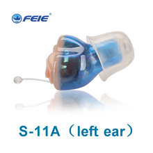Digital Invisible Ear Amplifier for Deafness Ear Equipment  Deaf-aid  Wireless CIC Hearing Aid Free Shipping S-11A недорго, оригинальная цена