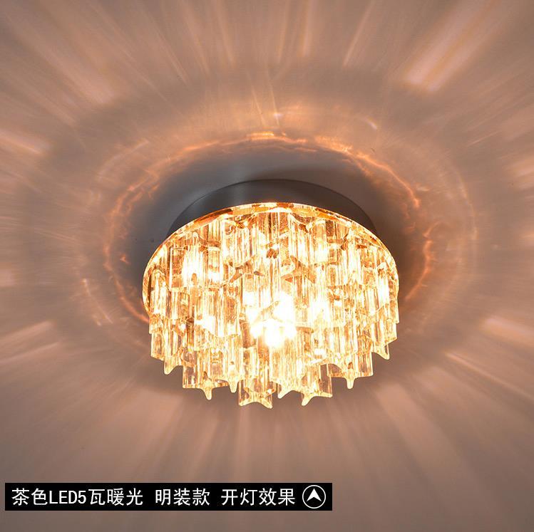 Aliexpress.com: Koop moderne lampenkap kristallen opbouw plafond ...