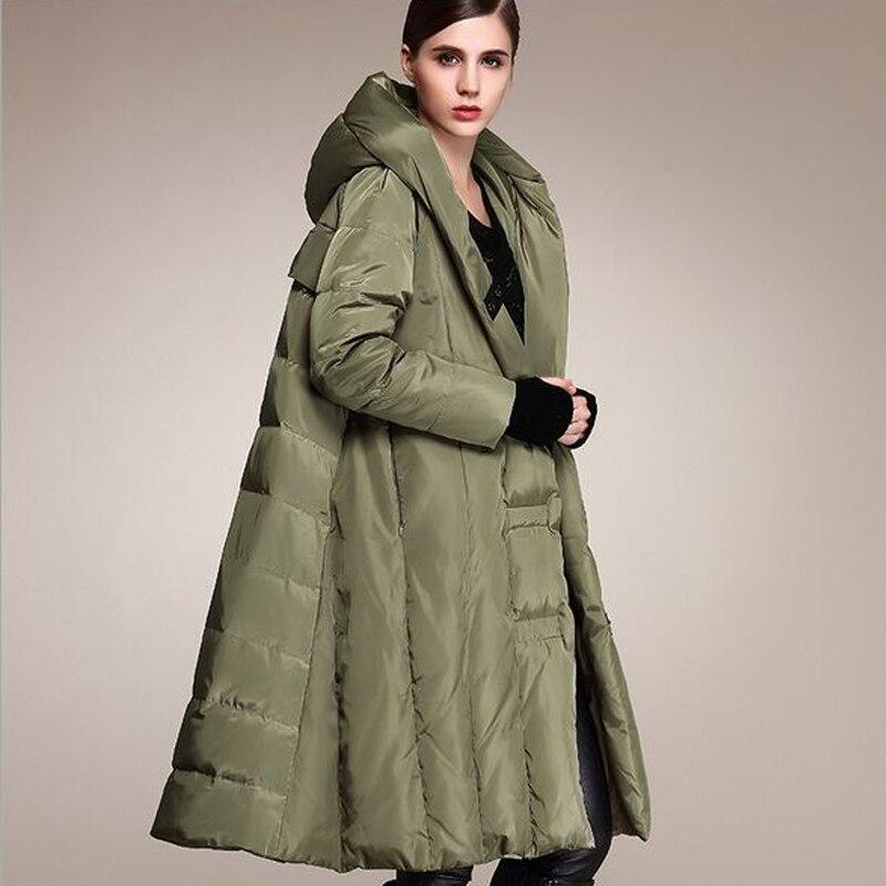 Manteau 2018 Down Pour Parka Chaud Haute rouge gris Noir Canard Qualité Duvet Lâche De Épaissir Veste D'hiver Les Blanc Femmes vert rZnxr4