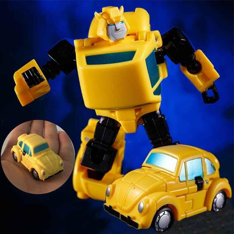 Comic Club KBB G1 10 см UI daman трансформация MSC-02 MSC02 ko newage негабаритный пчелиный Карманный военный экшн-фигурка робот-игрушка