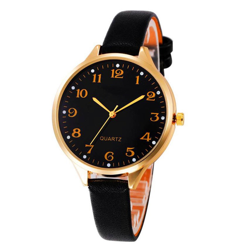 Watches OTOKY Fashion Women Leather Ladies Watch Quartz Analog Wrist Watch Gift montre femme Drop Shipping OCTOBER13 otoky montre pocket watch women vintage retro quartz watch men fashion chain necklace pendant fob watches reloj 20 gift 1pc