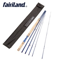 Fly Fishing Rod with spare top tip 3.4M 5 Sections 6/7 7/8 8/9 Fly Fishing Pole IM7 Cork Wood Handle Aluminum Reel Seat Fly Rod