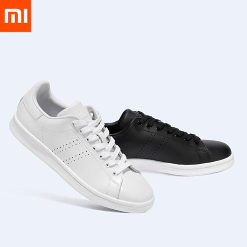 New Original Xiaomi FreeTie City Classic Leather Skateboard Shoes High Quality Comfortable Anti slip Fashion Leisure Shoes in Men 39 s Casual Shoes from Shoes