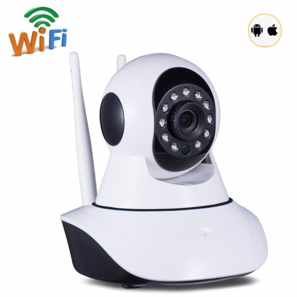 P2P 720P HD Wireless WiFi IP Camera 720P Pan/Tilt IR Night Vision Network CCTV IP Cam Support 64 GB TF Card new surveillance ip camera pan tilt p2p ir night vision motion detection wireless wifi indoor home security support 64g tf card