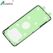 20 x S6 S7 S8 Lại Nhà Ở Dính Băng đối Với Samsung Galaxy S6 S7 cạnh Trở Lại Glass Pin Bìa Dính sticker cho S8 Cộng Với