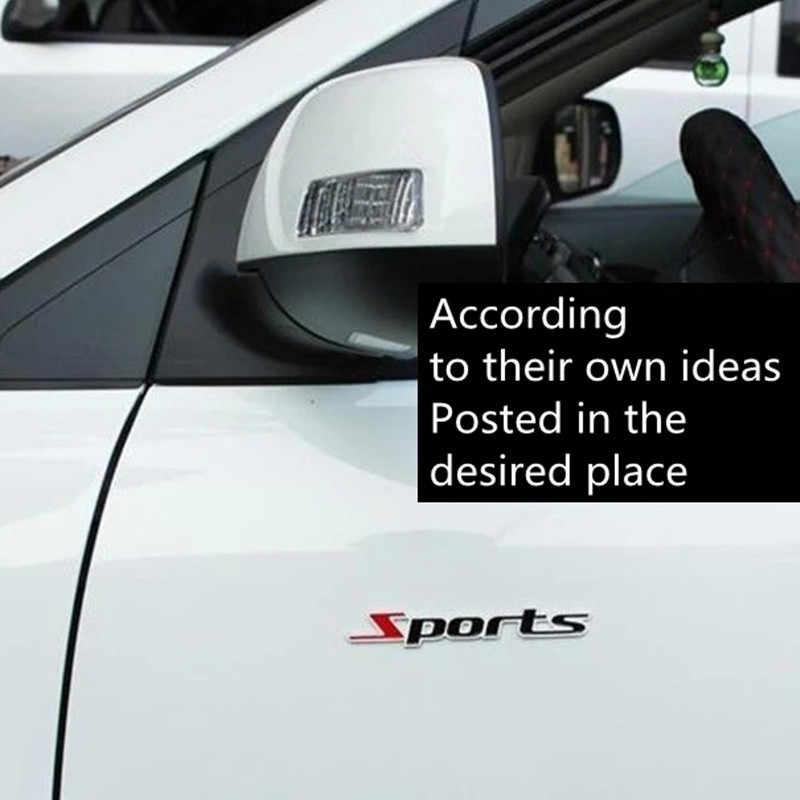 1 adet Araba Styling Spor Çıkartmaları Nissan Teana X-trail Qashqai Livina Tiida Sunny March Murano Genesis Juke aksesuarları