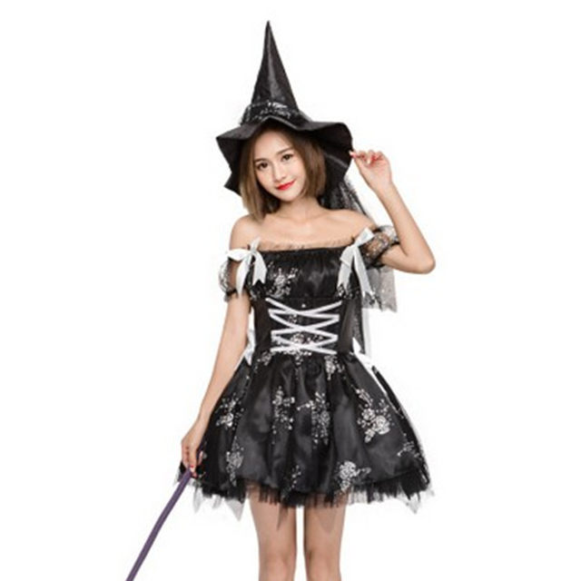 image  sc 1 st  Aliexpress & Online Shop High Quality Black Woman Sorceress Cosplay Halloween ...