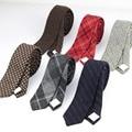 Luxo comercial 100% Gravata De Lã Clássica Cor Dick Inverno Gravata Dos Homens Laços Gravatas Designer Estilo Europeu Feito À Mão Quente