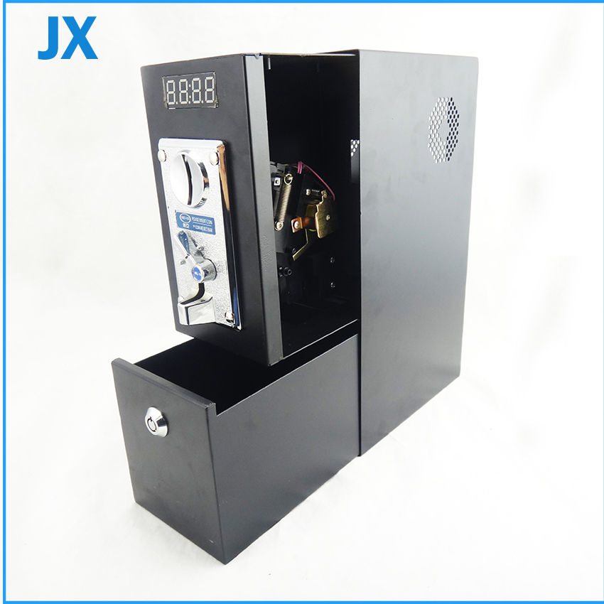 US $59 89 |Coin Operated Timer Control Box / coin acceptor for washing  machine, massage chair, whact TV-in Coin Operated Games from Sports &
