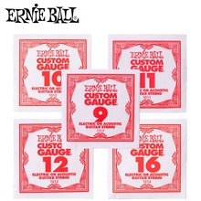 Ernie Ball Single Guitar Strings, 1st 2nd 3rd String, Fit for Electric and Acoustic Guitar Strings, Sell by 1 Single String