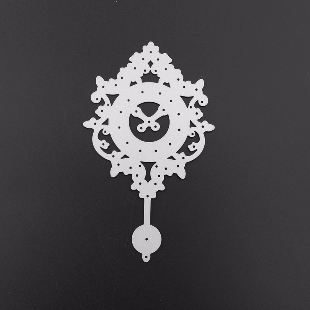 Clock Shape Metal Cutting Dies Stencil for DIY Scrapbooking Album Cards MakingEX