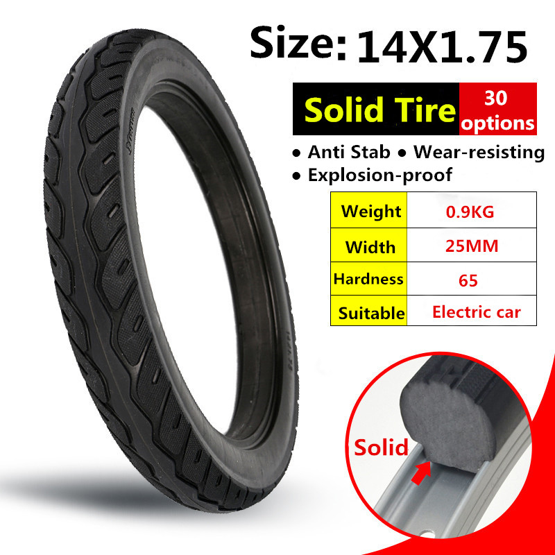 14 Inch Tires >> Us 23 0 28 Off 14 1 75 Electric Car Solid Tire 14 Inch Tire For Rubber Electrombile 14x1 75 Solid Tyre Black Tyre In Bicycle Tires From Sports